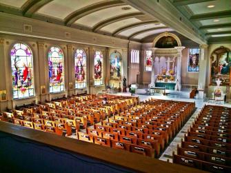 St. John's Newman Center at the University of Illinois (Champaign, IL). Photo provided by parish.
