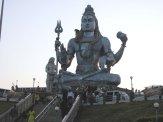 Shiva statue, Karnataka, India, (63 ft tall)