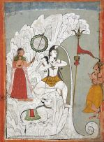 shiva and the descent of the river Ganges c1740