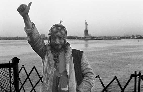 Lionel « Fox » Magal à New York en 1978 (photo Catherine Faux)