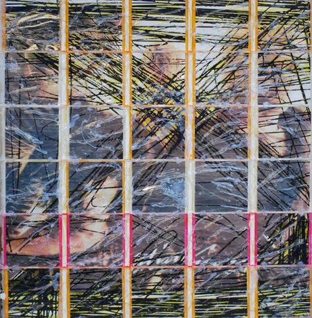Bertrand kelle, les jolies choses, Generation X, 2007 - 2008, photographie, boitiers CD, colle, 70 x 72 cm