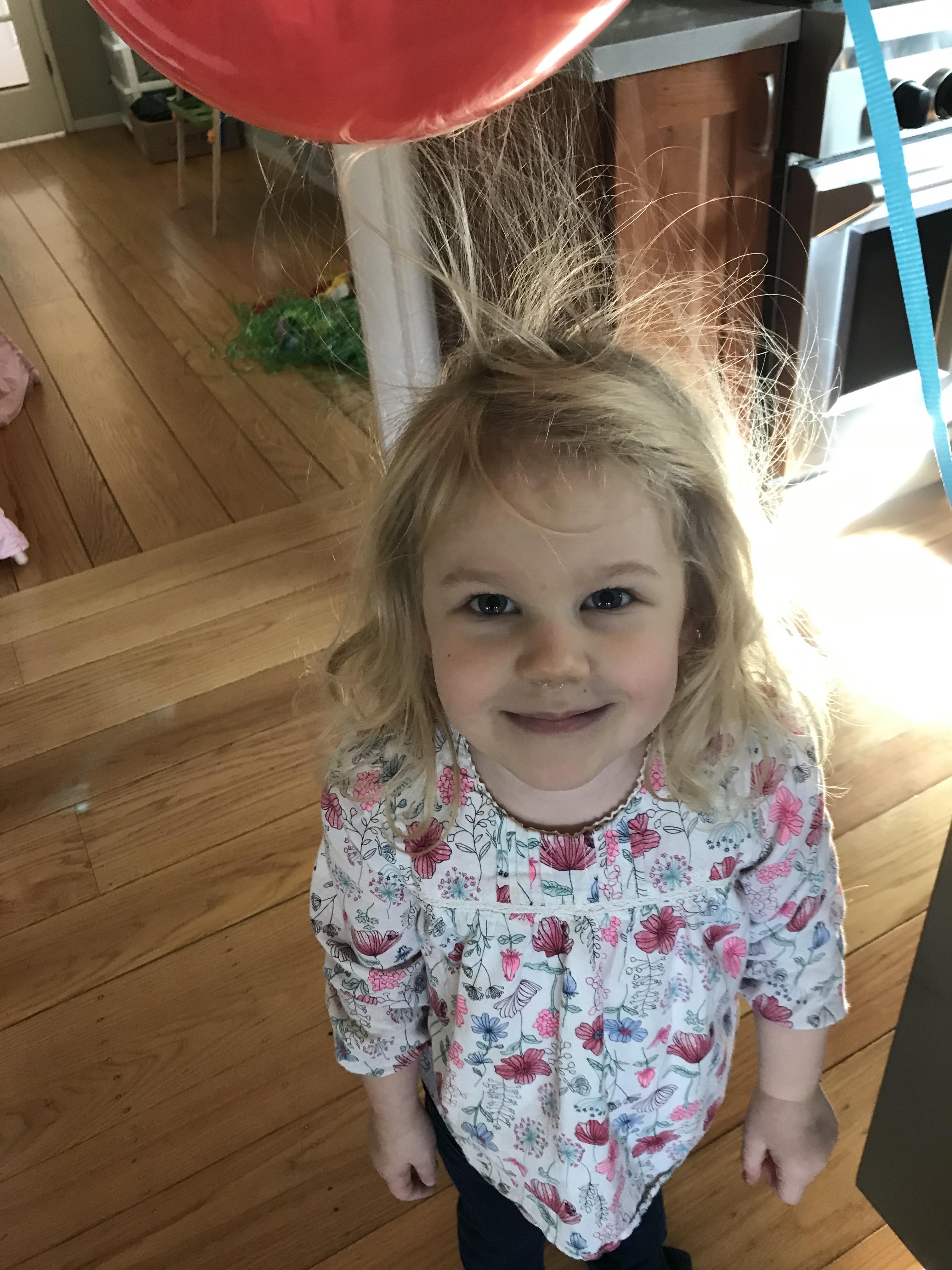 Kids Science Exploring Static Electricity Artandsciencemom