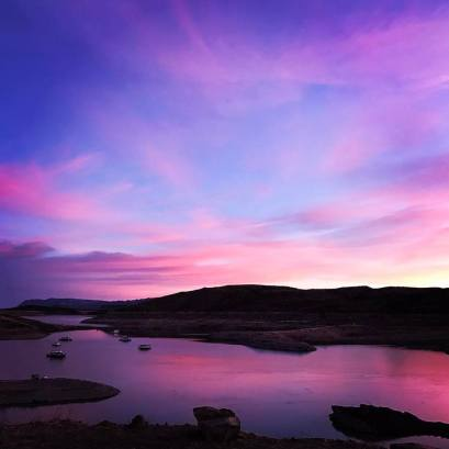 sunset at EBLAR