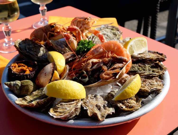 Mon plateau de fruits de mer