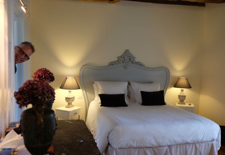 Room at Le Jardin des Simples