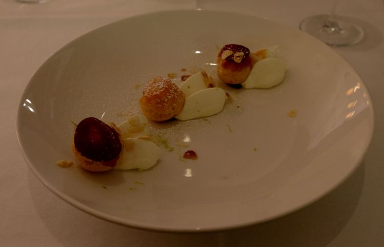 Desert at L'Epicurien