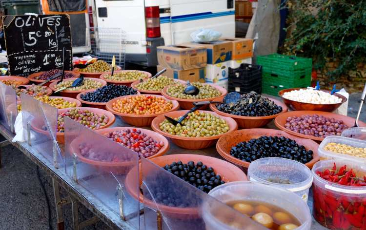 More olives at from Provence markets
