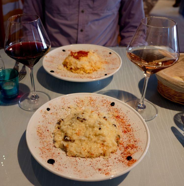 Amazing risotto
