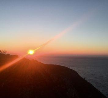Sunrise over the Cote dAzur