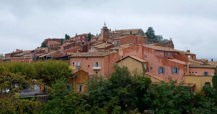 View of Rousillon