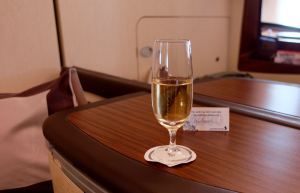 Dom Perignon on Singapore Air