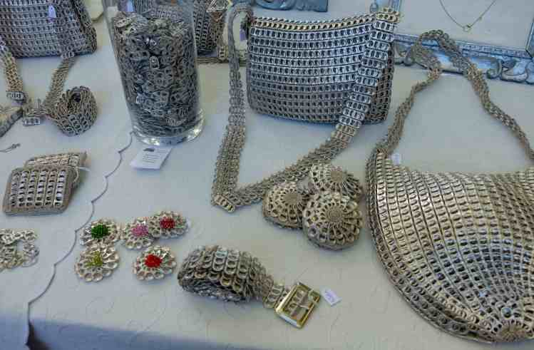 Everything made from can tabs