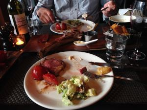 Delicious Portlander dinner