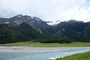 Glacial riverbeds