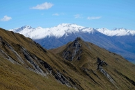 terrain of south island