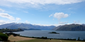 View from Rippon winery