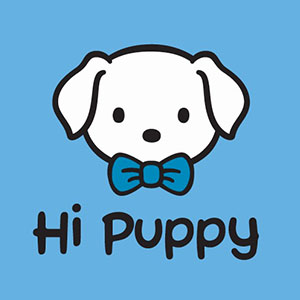 Hi Puppy logo square