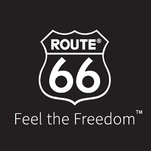 Route 66 logo square