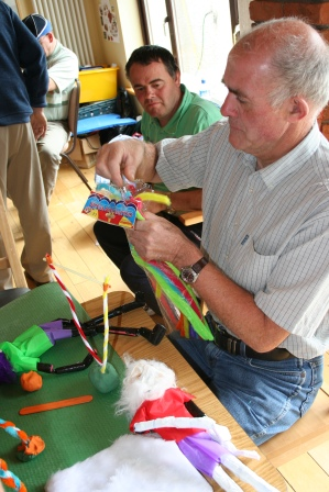 Making puppets – Arts in disability Ireland