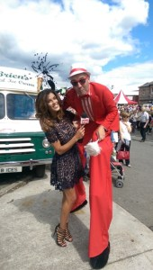 Stilt walkers Ireland, entertainers, Glenda Gilson