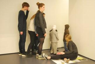 Students listening to Talkmen