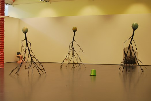 Nervous Trees (Electromechanical sculpture, 2013)
