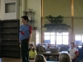 Polaris Elementary 3rd grade fashion show