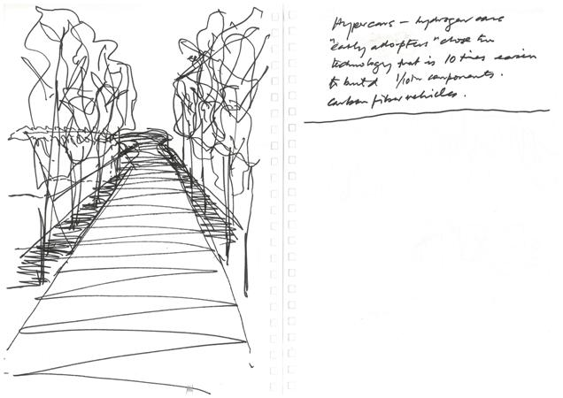 Tone Wheeler Sketches for a house in Bangalow