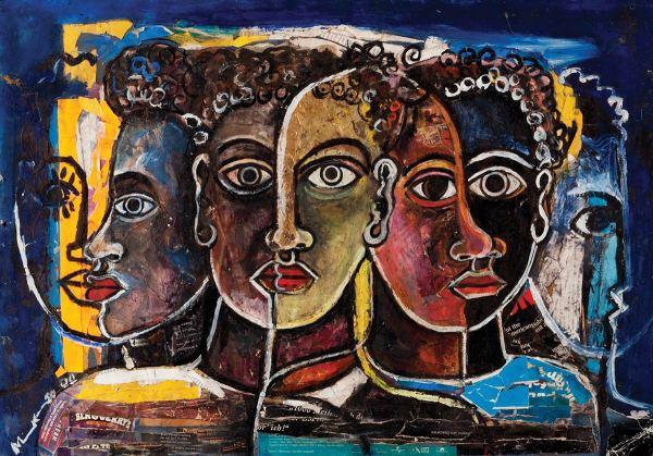 African Art Paintings Africa