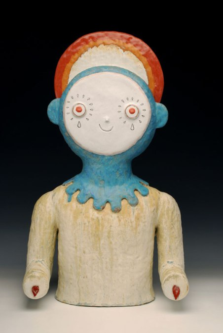 2010, 25 x 14.5 x 7 inches, Fired Clay