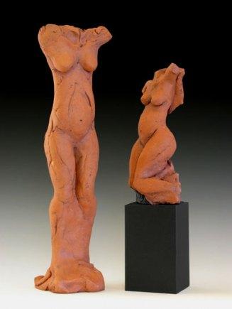 """36"""" height, earthenware, 2006"""