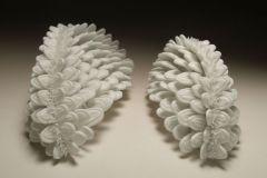 Plant-Creatures China, 2008, Porcelain, 20x9x8/17x8x8 cm.