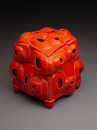 low fire red glaze