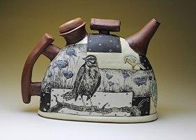 """Ann Ruel, """"Contemporary Terrarium Teapot"""""""