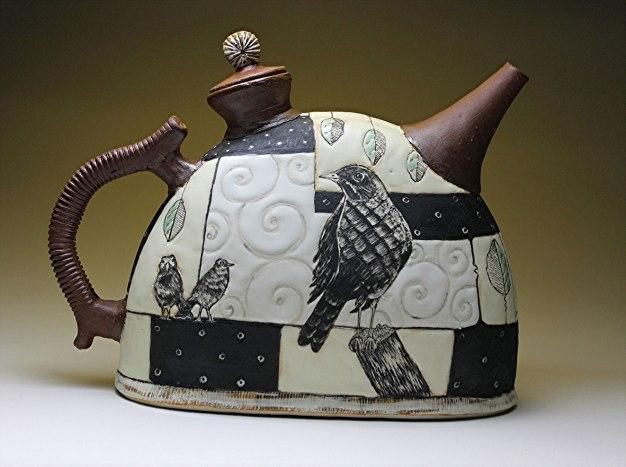 """Ann Ruel, """"Geometric Terrarium Teapot"""""""