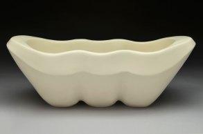 hand-built porcelain, cone 6 14x 6 x 6, 2013
