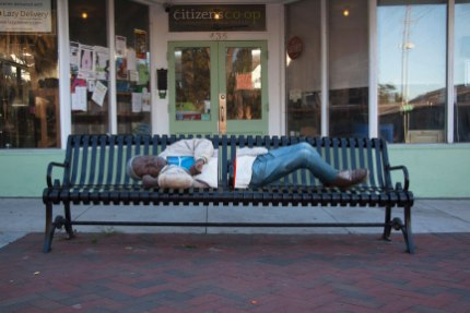 """Charity White, """"Main St. and SW 5th Ave."""""""