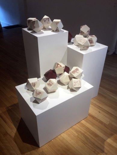"""Heidi McKenzie, """"Postmarked"""" (installation view)"""