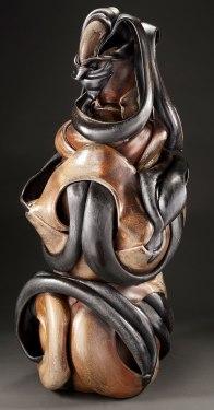 Wood-fired Ceramic, 48x22x25, 2018