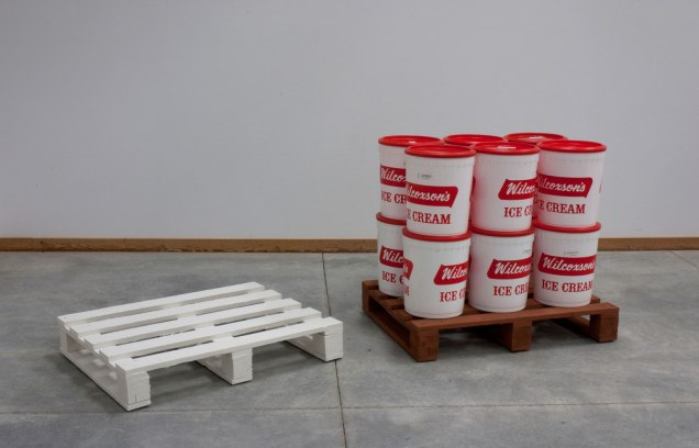 Ceramics/found objects, 3'x10'x6', 2011