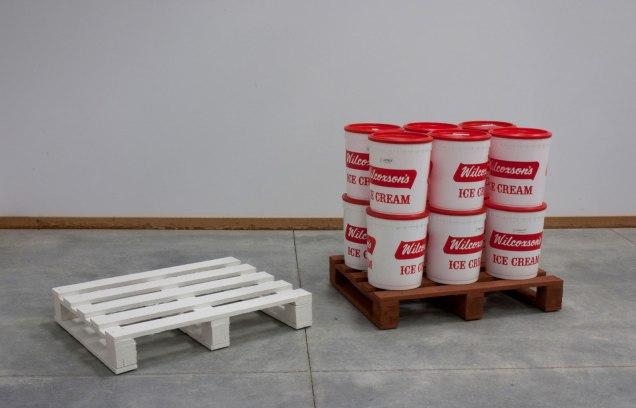 Ceramics/found objects, 3'x10'x6', 2011