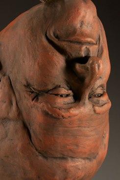 H: 12 x W: 7 x D: 7, Ceramic (low-fire clay, oxides, terra sigillata, underglazes, glaze, andelectric-fired), 2014