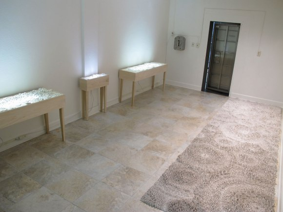 """Jamie Bardsley, """"Installation View from AMOCA in the Vault"""""""