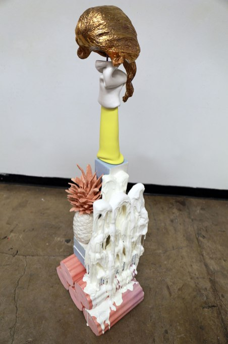 2019, Ceramics, Resin, 15L X 10.5W X 48H in