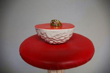 Ceramics, Resin, 30L X 30W X 70H in