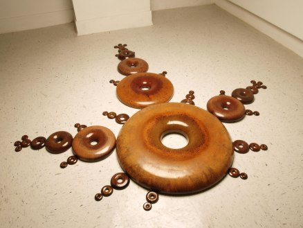 Stoneware, cone 6 glaze, 2011