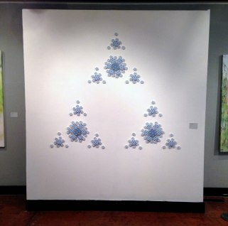 Porcelain, acrylic, 2014