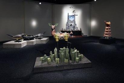 Jason Walker, Installation of solo show at Bellevue Arts Museum 2014-2015