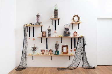 "Stephanie Kantor, ""Trophy Wall"""