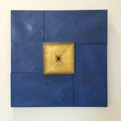 60x60cm; 2014; Oil on canvas, wood